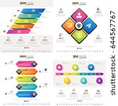 timeline infographics design...   Shutterstock .eps vector #644567767