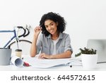 cheerful professional young...   Shutterstock . vector #644572615