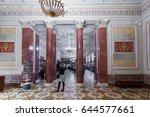 saint petersburg  russia... | Shutterstock . vector #644577661