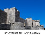 Small photo of The Northern side of the ancient city walls which have defended the old town from aggressors for centuries. This was captured in the Spring of 2017 against a clear blue sky.