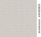 seamless pattern. stylish... | Shutterstock .eps vector #644583835