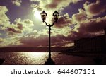 street lamp | Shutterstock . vector #644607151