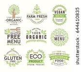 gluten free icon  vector gluten ... | Shutterstock .eps vector #644610835