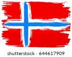 vector illustration of a flag... | Shutterstock .eps vector #644617909