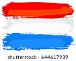 vector illustration of a flag... | Shutterstock .eps vector #644617939