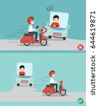 no texting  no talking  right... | Shutterstock .eps vector #644619871