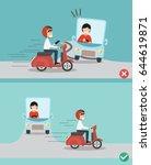 no texting  no talking  right... | Shutterstock .eps vector #644619871