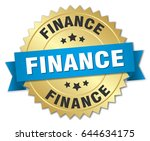 finance round isolated gold... | Shutterstock .eps vector #644634175