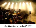 music instruments  drums guitar ... | Shutterstock . vector #64463962