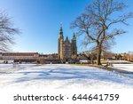 rosenborg castle is a... | Shutterstock . vector #644641759