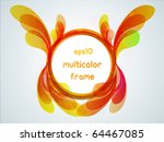 multicolor frame for your...
