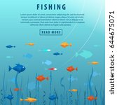 Fishing Banner. Fishing Concep...