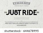 font.alphabet.script.typeface... | Shutterstock .eps vector #644678995