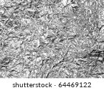 Aluminum Foil Texture Background