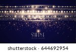 abstract elegant shining... | Shutterstock .eps vector #644692954