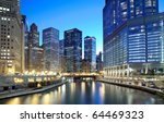 Chicago Financial District...