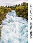 Huka Falls Near Taupo  New...