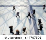 people walking. background with ... | Shutterstock . vector #644707501