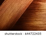 perfect healthy dyed red hair...   Shutterstock . vector #644722435