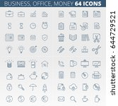 business  office  money and... | Shutterstock .eps vector #644729521