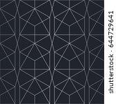 silver texture. seamless...   Shutterstock .eps vector #644729641
