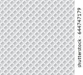 seamless white 3d pattern | Shutterstock .eps vector #644747179