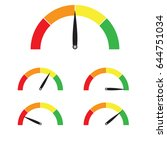 speed metering or rating icon.... | Shutterstock .eps vector #644751034