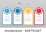 modern info graphic template...   Shutterstock .eps vector #644751367