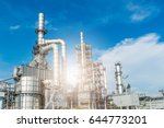 oil and gas industry refinery... | Shutterstock . vector #644773201