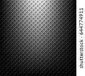 black metal background | Shutterstock .eps vector #644774911