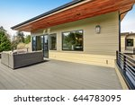 contemporary deck features a... | Shutterstock . vector #644783095