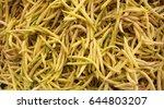 bean pods | Shutterstock . vector #644803207