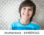 boy with beautiful background | Shutterstock . vector #644804161