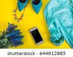 fashion set. fashion clothes.... | Shutterstock . vector #644812885