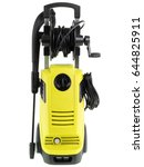 portable pressure washer... | Shutterstock . vector #644825911