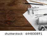 engineering supplies and... | Shutterstock . vector #644830891