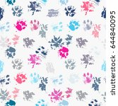 abstract seamless pattern  ... | Shutterstock .eps vector #644840095