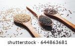 healthy seeds   Shutterstock . vector #644863681