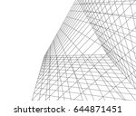abstract geometric design  | Shutterstock .eps vector #644871451