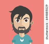 high quality avatar | Shutterstock .eps vector #644885029