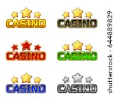colored logo text casino and...
