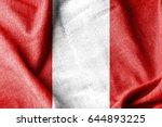 peru cotton flag | Shutterstock . vector #644893225