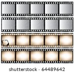 film strips | Shutterstock .eps vector #64489642