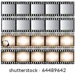 film strips | Shutterstock .eps vector #64489642
