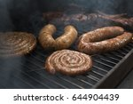 Grilled Sausage On The Grill....