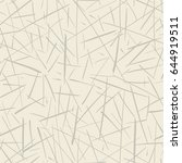 vector seamless pattern.... | Shutterstock .eps vector #644919511
