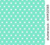vector seamless pattern. modern ... | Shutterstock .eps vector #644920585