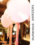White Balloons Decorated With...