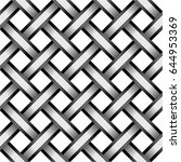 seamless pattern consisting of... | Shutterstock . vector #644953369