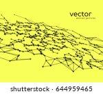 vector futuristic background... | Shutterstock .eps vector #644959465
